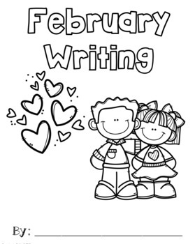 February Writing Prompts with Sentence Frames by Teaching