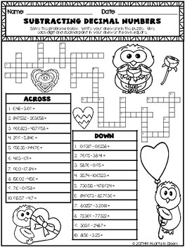 February in Fifth Grade (NO PREP Math and ELA Packet) by