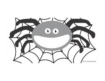 Free Feed the Spider Template and Apraxia/Phonology