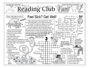 Feel Sick? Get Well! Puzzle Set (Taking Care of Illness