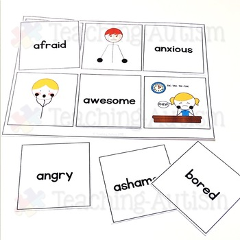 Identifying Feelings and Emotions Word to Picture Matching