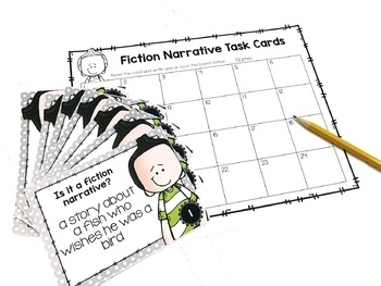 Fiction Narrative Writing Unit FOURTH GRADE by Not So