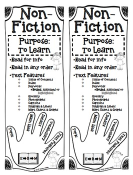 Fiction and Non-Fiction Story Elements by The Book Fairy