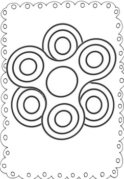 Fidget Spinner Coloring Activity Handout Pages by The
