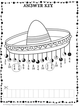 Fiesta Fractions: A Cinco de Mayo Math Review by Holiday