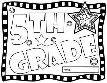 Fifth Grade Back to School Glyph Activity by Teaching with