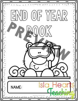 1st Grade End of Year Activities (1st Grade Last Week of