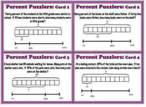 Finding Percent Tape Diagra by VThompson | Teachers Pay