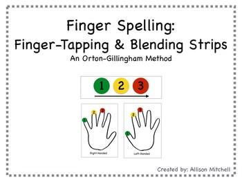 Finger Spelling/Finger Tapping (Orton-Gillingham) by Mrs