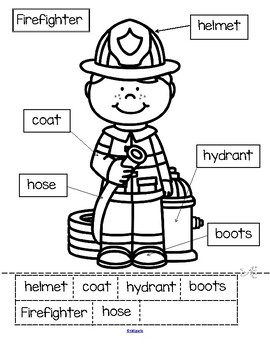 Firefighters Theme Unit for Preschool and Kindergarten by