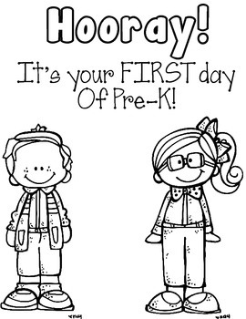 First Day of School Coloring Sheet FREEBIE by Robyn's