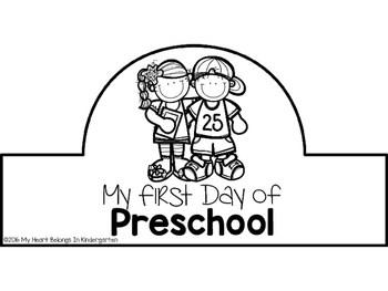 First Day of School Crowns FREEBIE by My Heart Belongs in