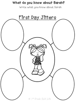 First Day of School Activities / First Day Jitters / Back