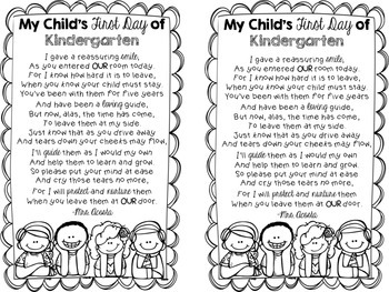 First Day of School Parent Letter (Editable) by Create S