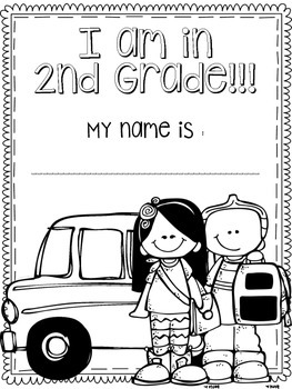First Day of Second Grade Packet by Little Miss Southern