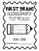 First Grade Assessment Portfolio by The Creative Classroom