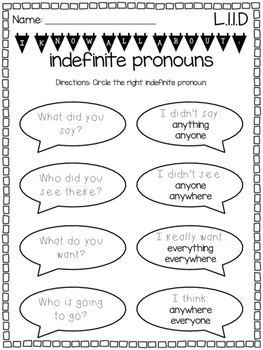 First Grade Common Core Language Skills {Exit Tickets