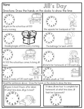 First Grade Common Core Measurement and Data by Fun and
