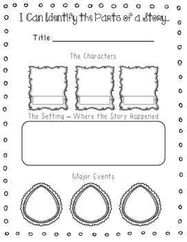 First Grade Common Core Reading Organizers by Katie