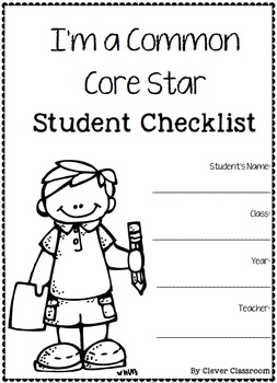 Common Core Differentiated Checklists by Clever Classroom