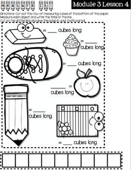 First Grade Eureka Math Module 3 Practice Journal by