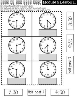 First Grade Eureka Math Module 5 Practice Journal by