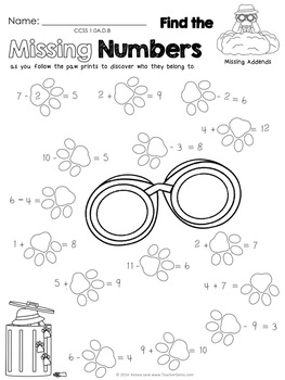 First Grade Math Agents: FREE Sample Activities Pack by