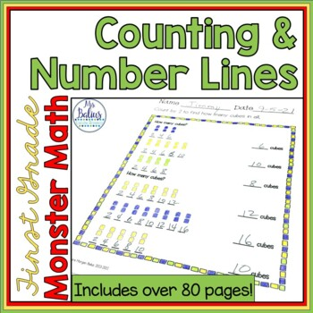 Back to School Math First Grade Number Sense Counting