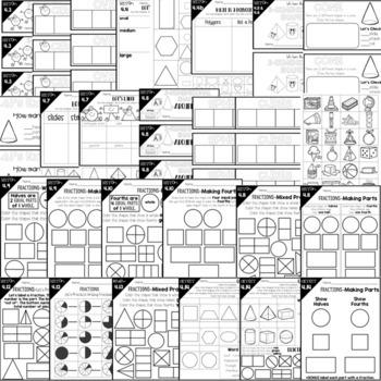First Grade Math Curriculum Guided Master Math Bundle