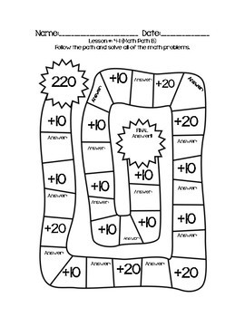 First Grade Math Expressions Common Core! Challenge Packet