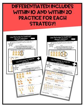 First Grade Math Fact Fluency BUNDLE by Math Coach