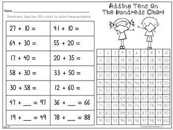 First Grade Math Topic 10: Adding With Tens and Ones 2015