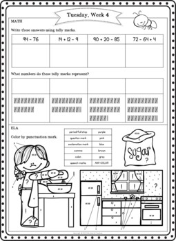 Second Grade Summer Packet (Second Grade Summer Review