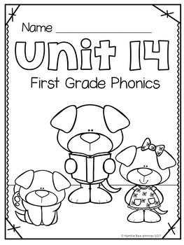 First Grade Phonics Unit 14, Trick words and Review Word