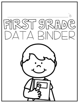 First Grade Student Data Binder: COMMON CORE by Kristin