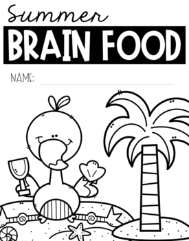 First Grade Summer Brain Food {Summer packet} by Berry