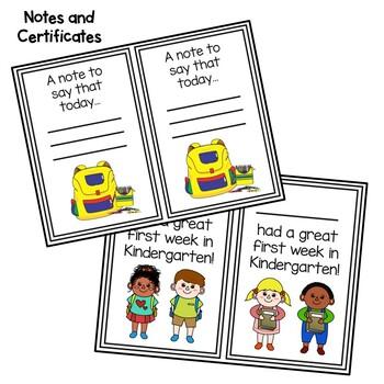 Kindergarten First Week Activities by No Worksheets