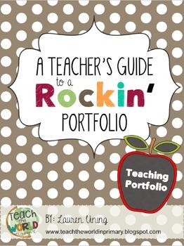 Teacher Portfolio by Teach the World  Teachers Pay Teachers