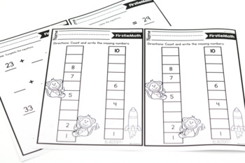 FirstieMath® First Grade Math Intervention Curriculum by