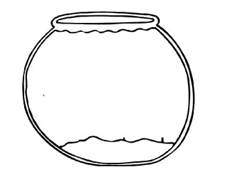 Fishbowl Outline for Finding Nemo Writing Activity by