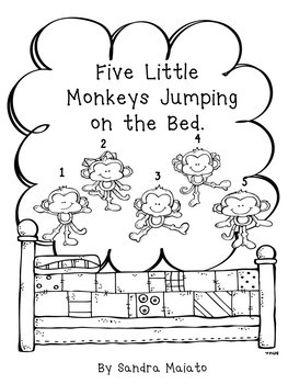 Five Little Monkeys Jumping on the Bed by English Plans To