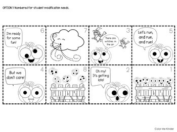 Five Little Pumpkins Easy Reader and Pocket Chart