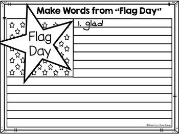 Flag Day By Classroom Base Camp Teachers Pay Teachers