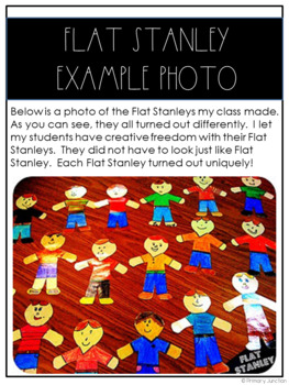 Flat Stanley Project Guide By Primary Junction TpT