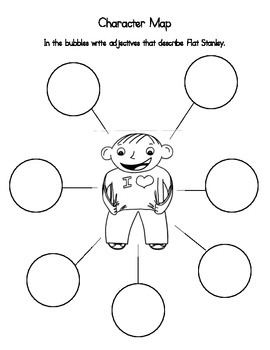 Book Club Comprehension Packet for Flat Stanley: Stanley