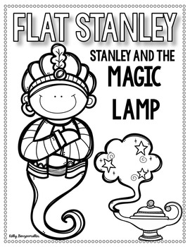 Flat Stanley: Stanley and the Magic Lamp Book study by