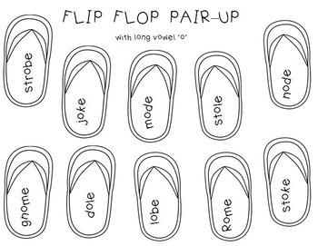 Flip-Flop Pair-Up (Short Vowels & Long Vowels) by Reading