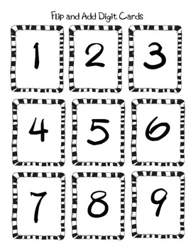 Flip and Add 4th Grade Common Core 4.NBT.4 game by Kelly