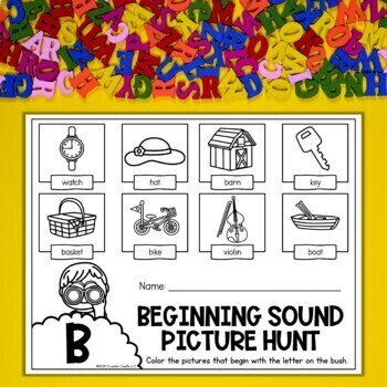 Alphabet Letter Printables, Centers, and Assessments by