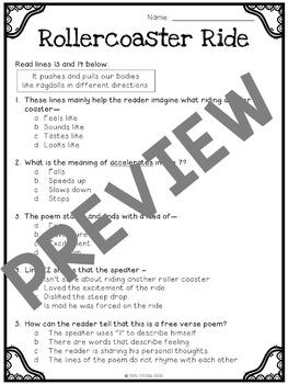 Focused Poetry 3rd Grade: Science by Texas Teaching Chicks